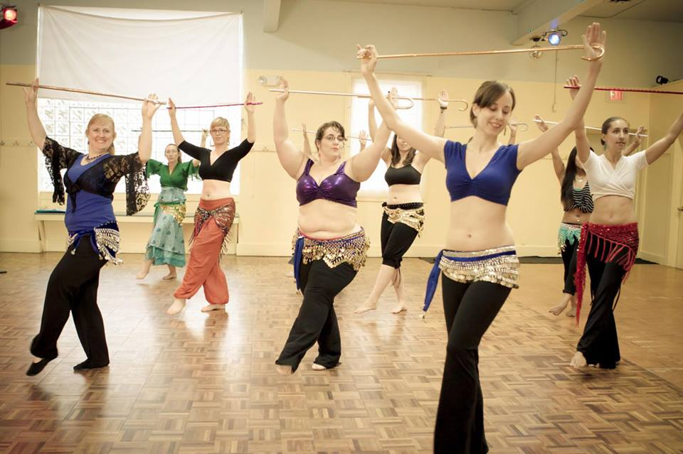 Online Class belly dancing for beginners